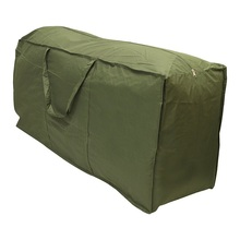 Best Quality 1Pc Outdoor Patio Furniture Chaise Waterproof Protect Cover Storage Bag Christmas Tree Storage Cushion(China)