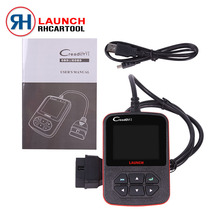 100% Original Launch Creader VI creader 6 Auto code scanner with Russian,English,Spanish,Portuguese Online update Free Shipping