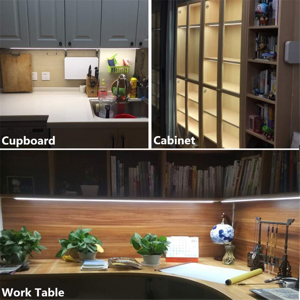 30CM LED Under Cabinet Strip Light Bar Lamp CRI90 Warm Dimmable Waterproof Table Lamp desk light For Reading Study Office Light 4