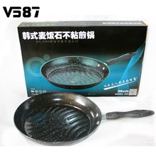 26cm Non-Stick Iron Induction Cooking Oven Dishwasher Safe Dining Bar Cookware Kitchen Frying Pan With Medical Stone Coating