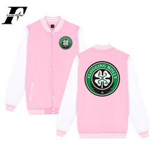 LUCKYFRIDAYF FLOGGING MOLLY Jacket Comfortabele Katoen Mode Punk Muziek Ontwerp Baseball Jacket Unisex Jas Paar Sweatshirt(China)
