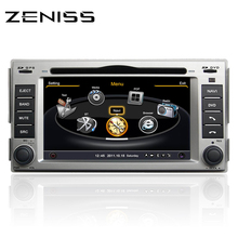 Free Shipping Zeniss S160 2DIN Car DVD Android for Hyundai Santa fe 2007-2012 car radio navigation for Santa fe BT s100 s160