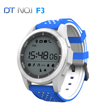 2017 NEW NO.1 F3 Smart Watch Bracelet IP68 waterproof Smartwatch Outdoor Mode Fitness Tracker Reminder Wearable Devices