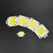 1Pcs 10W 20W 30W 50W 100W COB SMD Integrated Diodes Chip LED lamp light Source For DIY LEDs Floodlight Spot light Bulb