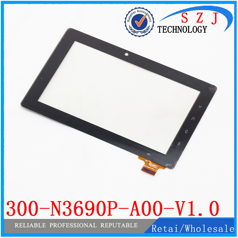Original 7 inch tablet pc Glass Touch Screen Panel with Digitizer 300-N3690P-A00-V1.0 Free Shipping 10Pcs/lot<br><br>Aliexpress