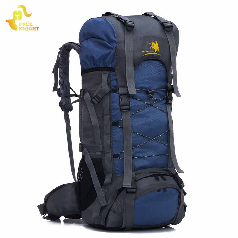 Free Knight 60L Large Capacity Outdoor Sports Bag Waterproof Backpack Molle Climbing Travel Bag Mountaineering Hiking Backpacks <br>