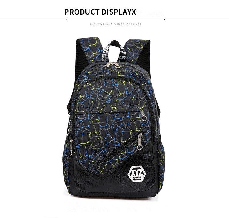 حقائب مدرسية عالية الجودة قماش 26
