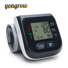 Yongrow Automatic Wrist Blood Pressure Monitor Digital LCD Wrist Cuff Blood Pressure Meter Esfingomanometro Tonometer(China)