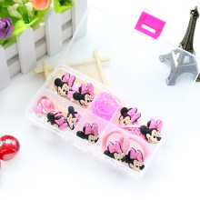 1 BOX 2017 Fashion cute girls Hair Band Hello Kitty hair accessories elastic hair bands Girl hair clip Gum kids gifts Headwear(China)
