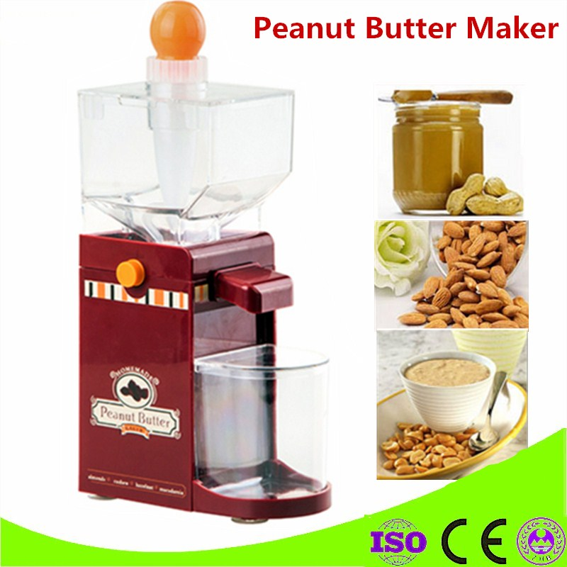 Home Use 220V Peanut Butter Machine Small Electric Sauce Pressing Machine Peanut Butter<br>
