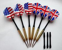 10pcs/lot Free shipping 15cm copper dart needle darts 20 kinds of patterns designs selection GYH