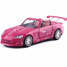 1:32 Scale Fast and Furious 2 Honda S2000 Car Model Metal Alloy Diecasts Toy Vehicles Model Toy Car Foe Kids Birthday Gift(China)