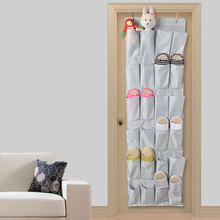 Over the Door hanging storage bag shoe organizer with 20, 24 compartments, Free shipping, low price(China)