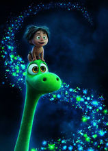 The Good Dinosaur Movie poster  Oil Painting 1 Panel Canvas Wall Art Prints On Canvas Painting By Numbers
