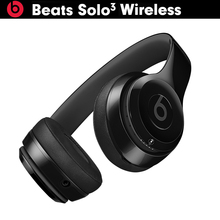 Original Beats Solo3 Wireless 3 Bluetooth Over ear Headphone Adjustable Fit Anti Noise Professional Activate Siri 40 Hrs Battery(China)