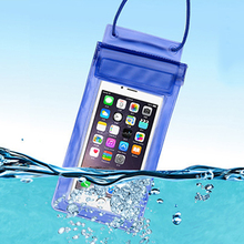 Waterproof Mobile phone bag pouch power bank Swimming surfing Hermetic bag for Apple Iphone 5 6 Xiaomi Mi5 Huawei P10 OPPO Meizu