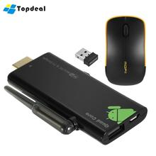V21 Mini PC Android 5.1TV Dongle Stick Quad-core RK3229 1G/8G Bluetooth Miracast DLNA Airplay WiFi Smart Mini PC