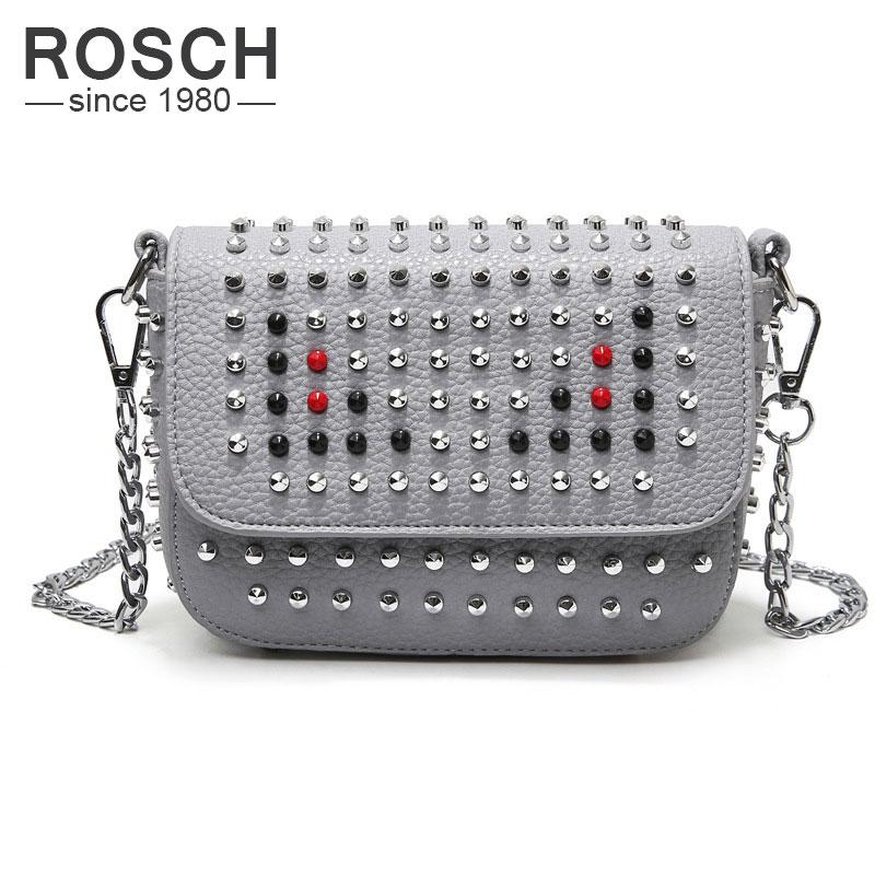 Korean Style Rivet Womens Mini Crossbody Bags Luxury Brand Women Messenger Bag Handbags Women Bags Designer<br><br>Aliexpress