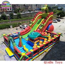 17*11*8m commercial used bounce house for sale craigslist,free blower inflatable giant fun city