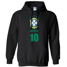 Brazil nation team hoodie men sweatshirt sweat new streetwear socceres jerseyes footballes tracksuit brazilian Brasil fleece B(China)