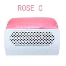 110V&220V random colour Nail art tool Nail suction Dust Collector Nail Dryer Tool Machine Vacuum Cleaner with 2 bags Salon Tool(China)