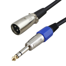 6.35mm Male to XLR Male Balance Audio Cable Stereo OFC Audio Cable For Microphone Mixer DVD HDTV Speakers 1m 2m 3m 5m 8m 10m