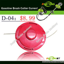 Free Shipping brush cutter lawn mower trimmer head brush cutter head grass cutting machine gasoline plastic head D-04