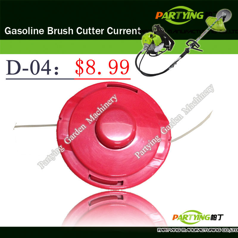 Free Shipping brush cutter lawn mower trimmer head brush cutter head grass cutting machine gasoline plastic head D-04(China (Mainland))