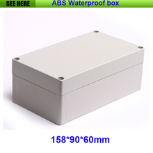 Free Shipping Plastic Waterproof Box IP65 Plastic Box Electronic Case Custom Project Boxes 158*90*60 mm(China)