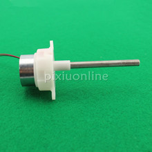 J210b Round White 300 Gear DC Motor Long Blind Hole Shaft fit Solar energy Low Speed and Mute DIY Motor Sell at a Loss(China)