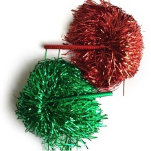 30g,15-45cm,6pair(12pcs/lot),7colors,Game Cheerleader Cheerleading pom poms Cheerleading pompoms cheer pom hand flower outdoor