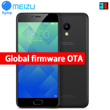"Original Meizu M5 Global Firmware 4G LTE Cell Phone 2.5D Glass MT6750 Octa Core 5.2"" 2GB RAM 16GB ROM 13MP 4G LTE Fingerprint(China)"