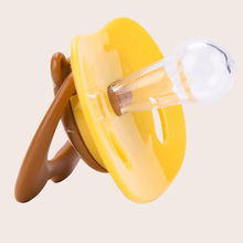 Baby Care Pacifier Silicone Nipples Soother Soft Feeding Tool Infant Food Nipple Feeder P5 - hill fly store