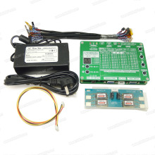 LCD/LED Panel Tester Tool  T-60S 6th Generation Monitor Laptop TV Support 7-55 W/ LVDS cable Inverter +Inverter + LVDS Cables