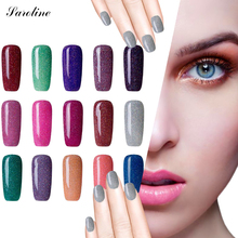 Saroline Neon UV Nail Gel Polish Lucky Colorful Art for Long-lasting Soak Off UV Gel Lacquers Permanentes Star Rainbow Nail Glue(China)