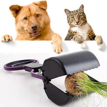 Pet Supply Dog Cat Pet Pooper Scooper Long Handle Jaw Poop Scoop Clean Pick Up Animal Waste Dog Cat Yard Cleaner