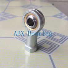 8mm bearing SIL8T/K PHSAL8 SIL8 SIL8TK rod end joint bearing metric female left hand thread M8X1.25mm rod end bearing SI8 SI8TK