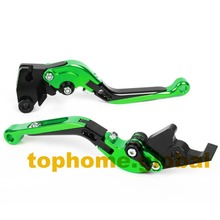 Motorcycle Accessories CNC Folding&Extending Brake Clutch Levers For Kawasaki ZZR1200 2002-2005 2003 2004