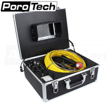 "7D1 40M Sewer lateral Inspection Waterproof Video Camera 7"" LCD Screen Drain Pipe Inspection DVR 4500MAh Battery(China)"