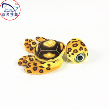 2016 New arrival 40# turtle stuffed animal plush toy gift turtle with big eyes and coffee color toy doll(China)