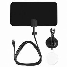 Marsnaska Promotion Digital Indoor TV Antenna HD Flat Design High Gain HD TV DTV Box 470MHz-860MHz(China)