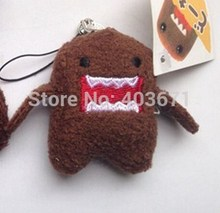 New Cute cartoon brown doll plush charm / mobile phone strap / Wholesale