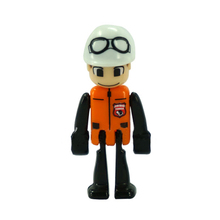 D1070 Free shipping orange dress black arm Bai Kui workers sell like hot cakes Thomas scene accessories toys for children(China)