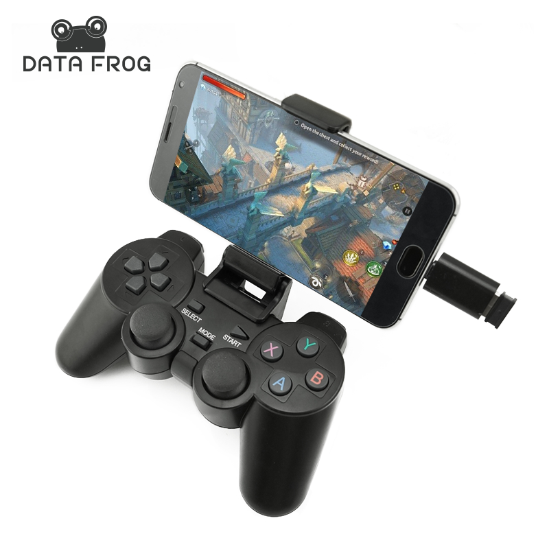 Android Wireless Gamepad For Android Phone/PC/PS3/TV Box Joystick 2.4G Joypad Game Controller For Xiaomi Smart Phone<br><br>Aliexpress