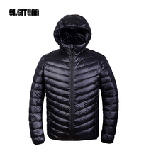 Winter men Ultralight Jacket 95% Duck Down Jacket Men Down Jacket Outdoors Collar Winter Parka Coat DP002
