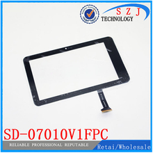 "Original 7"" inch Touch Screen For iPad M7 PD10 3g MTK6575 SD-07010V1FPC Touch Panel Digitizer Free Shipping 10pcs/lot(China)"