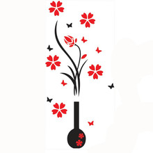 102*46CM DIY Sticker Flower Tree Poster Arcylic 3D Wall Stickers Decal Home Decor Posters Adesivo De Parede For Home Kitchen etc