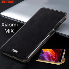Xiaomi mi mix case cover xiaomi mix case MOFi original mi mix flip case stand housing capa coque funda completely covers 6.4(China)