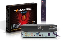 Full HD FTA Decoder Az America s1008 Satellite Tv Receptor Same As az america s1001 With SKS IKS PVR WIFI