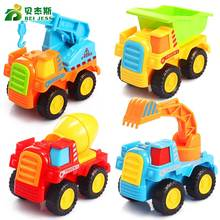 BEI JESS City Mini Engineering Series High Quality Fireman Construction Excavator Car Model Children's Toys Gift 688-1